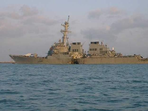 attack on uss cole American navy destroyer uss cole is rocked by enormous explosion while it was the worst attack on an american navy ship since an iraqi missile.